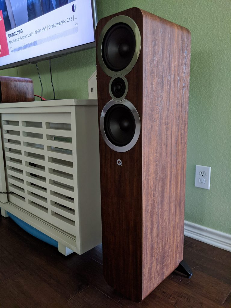Q Acoustics 3050i in English Walnut