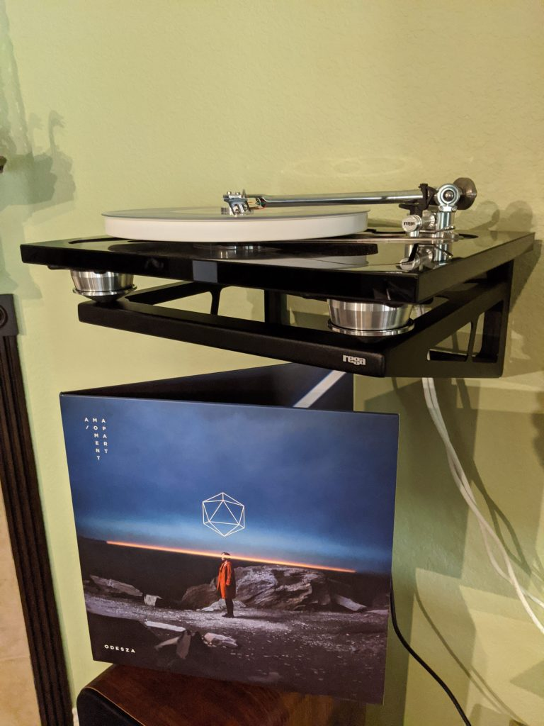 A Moment Apart playing on the Rega RP10