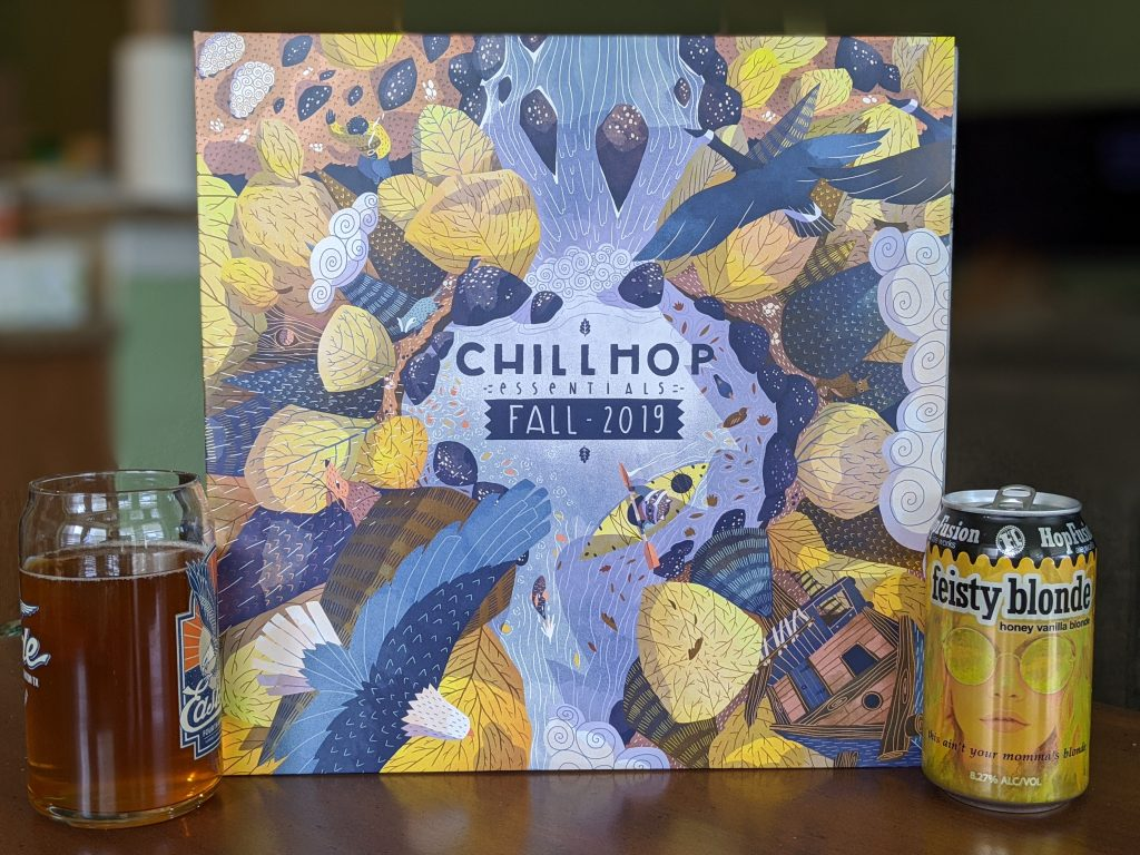 HopFusion Fiesty Blond with Chillhop Essentials Fall 2019