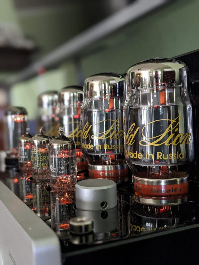 Vacuum tubes are just beautiful to look at and listen to